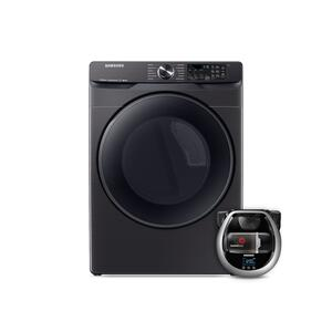 SamsungWi-Fi Connected Electric Dryer with Steam Sanitize+ and Pet Plus Robot Vacuum
