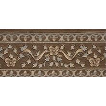Ashton House Ribbon Trellis A01b Mink Border