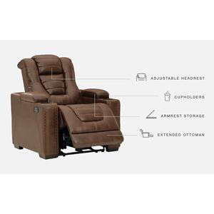 Signature Design By Ashley - Owner's Box Power Recliner