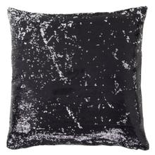 See Details - BEVERLY PILLOW- BLACK  Sequins on Felt  Down Feather Insert