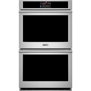 "MonogramMonogram 30"" Smart Electric Convection Double Wall Oven Statement Collection"