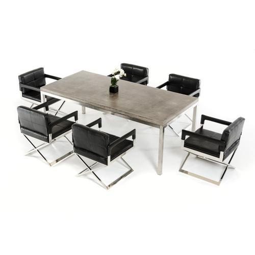 Modrest Retna Modern Concrete Dining Table