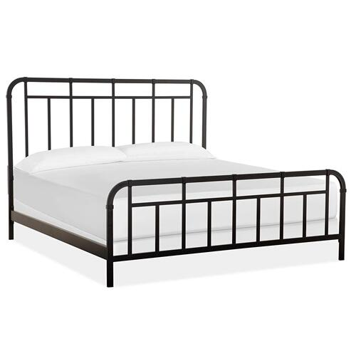Magnussen Home - Complete Metal Cal.King Bed