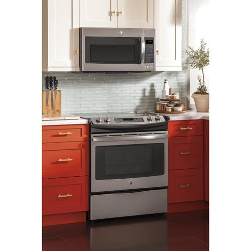 """Product Image - GE® 30"""" Slide-In Front Control Electric Convection Range"""