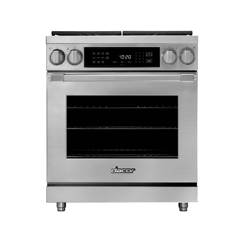 "30"" Dual Fuel Pro Range, DacorMatch, Liquid Propane/High Altitude"