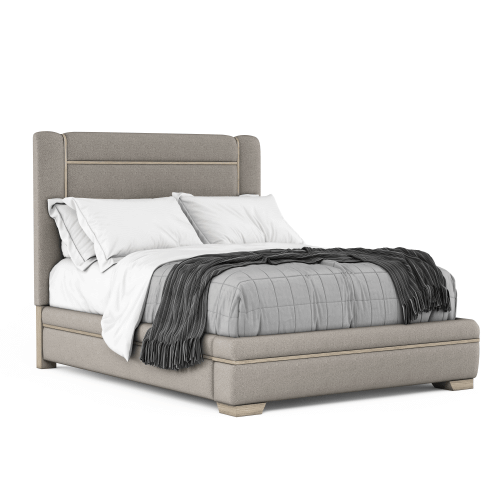 A.R.T. Furniture - North Side King Upholstered Panel Bed