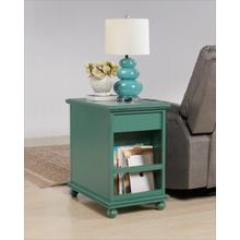 Elegant Chairside, Teal