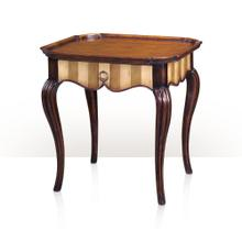 View Product - The French Cabriole, Olive & Ivory