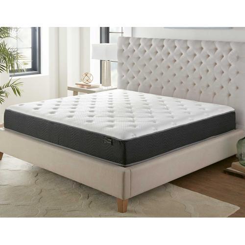 Silver Sleep Bamboo Plush 11.5-inch Mattress, King