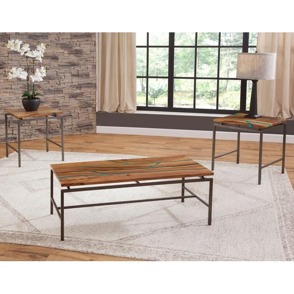 See Details - Tamra 3-Piece Occasional (Cocktail & 2 End Tables)