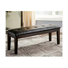 Haddigan Large UPH Dining Room Bench Dark Brown