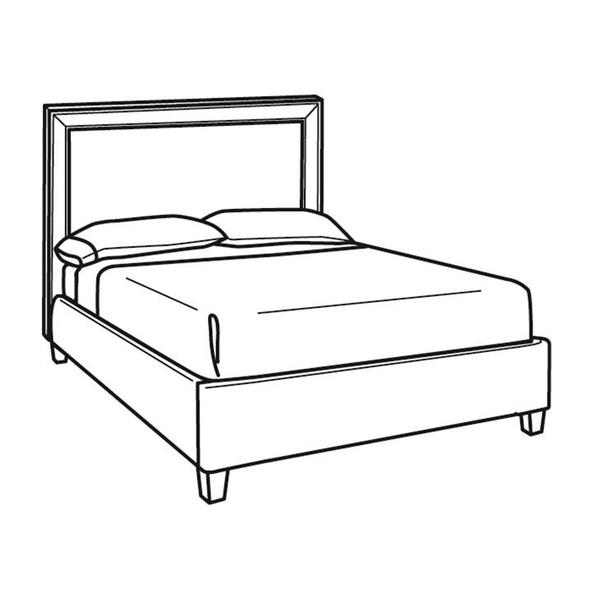 See Details - Queen Bed with Short Headboard