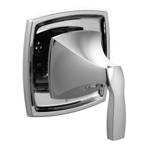 Voss chrome transfer valve trim