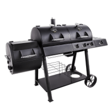 Longhorn Combo Charcoal/Gas Smoker & Grill