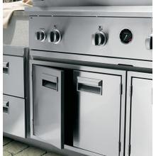 See Details - Monogram Stainless Steel Double Doors