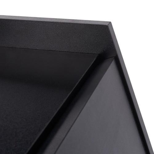 Xander Modern Secretary Desk - Black