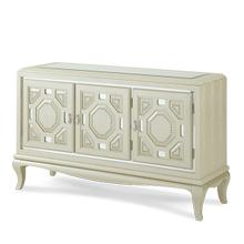Pearl Croc Console Cabinet
