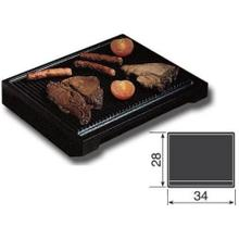 Large Flat Cast Iron Steak Grill Pan