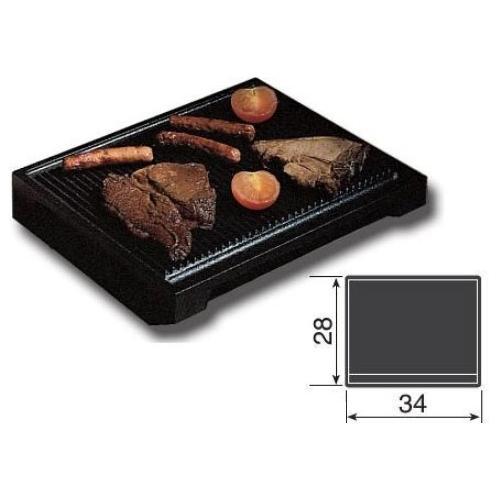 Ilve - Large Flat Cast Iron Steak Grill Pan