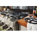 Kitchenaid KitchenAid® 36'' Smart Commercial-Style Dual Fuel Range with 6 Burners - Avocado Cream