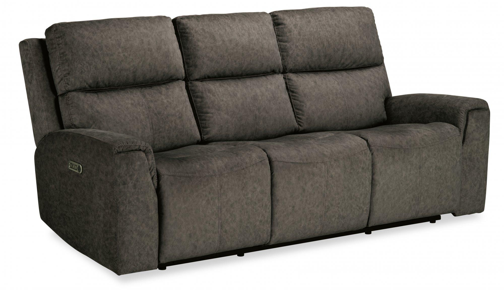 FlexsteelJarvis Power Reclining Sofa With Power Headrests