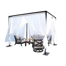 Milano Outdoor Cabana 10 ft. SQ Cabana