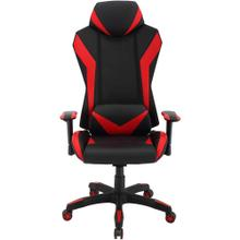 Hanover Commando Ergonomic High-Back Gaming Chair in Black and Red with Adjustable Gas Lift Seating and Lumbar Support, HGC0105