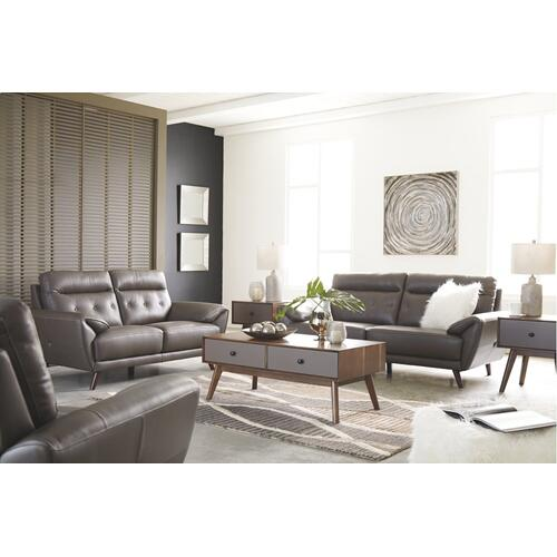 Sissoko Leather Sofa