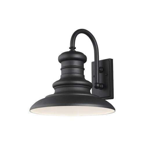 Redding Station Large Lantern Wildlife Friendly Textured Black Bulbs Inc