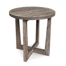 View Product - Liam Oak Round End Table