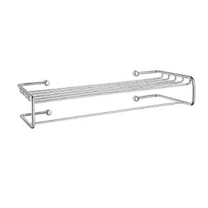 Towel Shelf with Towel Rail Product Image