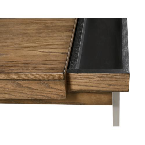 Emerald Home Slider Cocktail Table With Storage T420-00