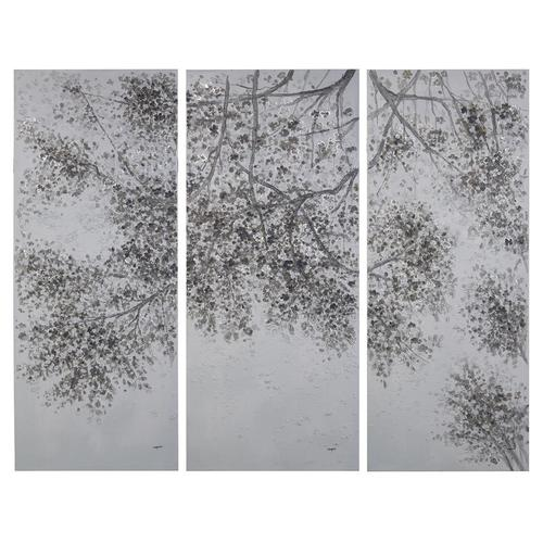 Teng Fei's Extended Boughs Triptych