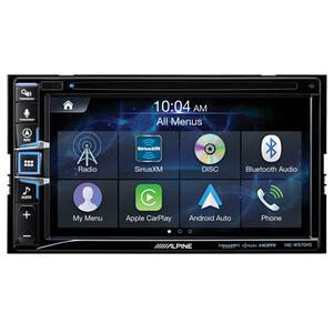 Alpine - 6.5-Inch CD/DVD Receiver with GPS Navigation