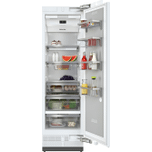 MieleK 2601 Vi - MasterCool(TM) refrigerator For high-end design and technology on a large scale.