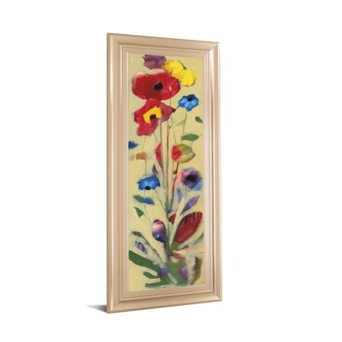 """Wildflower I"" By Jennifer Zybala Framed Print Wall Art"
