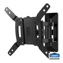 "Full-Motion Mount for 13"" - 40"" TVs up to 50lbs. Comes with Bonus 6.5ft 4k HDMI Cable."