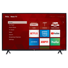 "TCL 43"" CLASS 3-SERIES FHD LED ROKU SMART TV - 43S325"