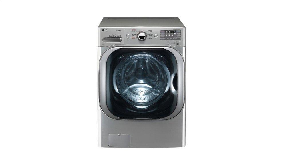 5.2 cu. ft. Mega Capacity TurboWash® Washer with Steam Technology Photo #3