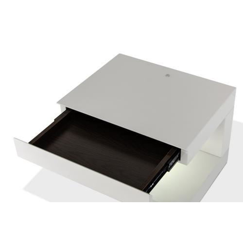 Modrest Esso Modern Grey Nightstand