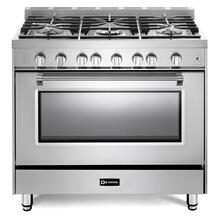 """View Product - Stainless Steel 36"""" Prestige Gas Range"""