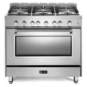 "Stainless Steel 36"" Prestige Gas Range"