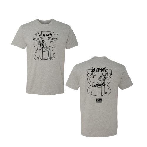 Klipsch Elf T-shirt in Gray - XXXL