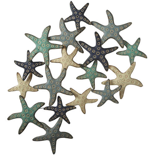 Layered Starfish Wall Decor