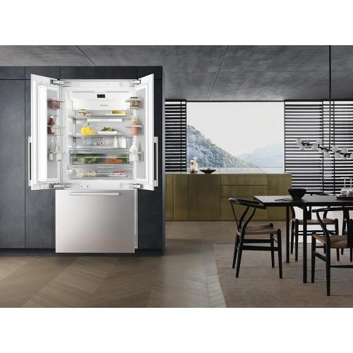 KF 2981 SF MasterCool FrenchDoor For high-end design and technology on a large scale.