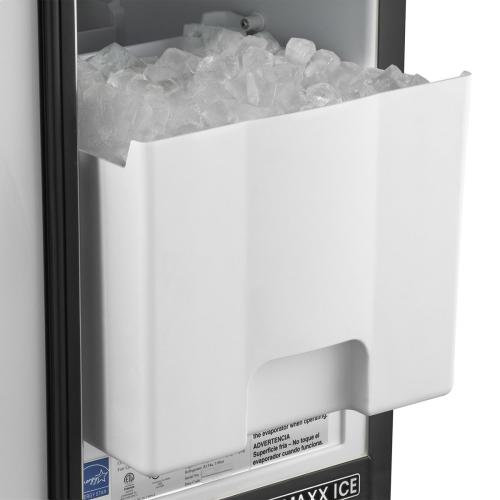 Maxx Ice 50 lb. Freestanding Icemaker in Black