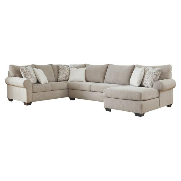 See Details - Baranello 3-piece Sectional With Chaise