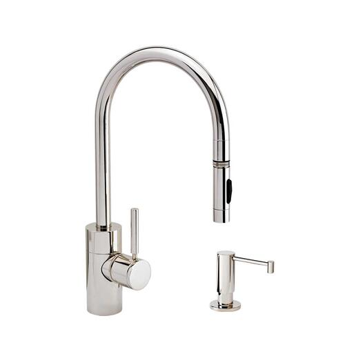 Contemporary PLP Pulldown Faucet 2pc. Suite - 5400-2 - Waterstone Luxury Kitchen Faucets