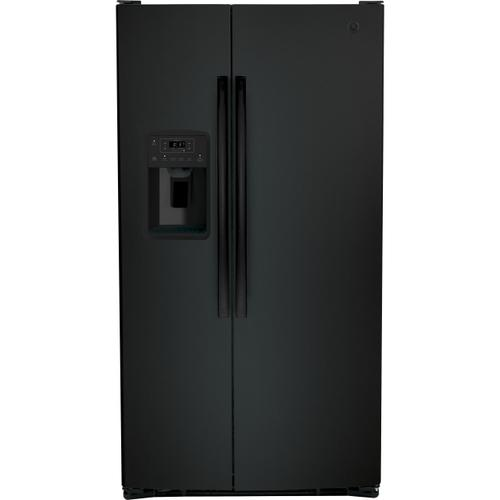 View Product - GE® 25.3 Cu. Ft. Side-By-Side Refrigerator