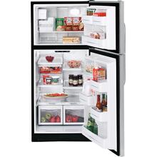 GE® 21.7 Cu. Ft. Stainless Top-Freezer Refrigerator